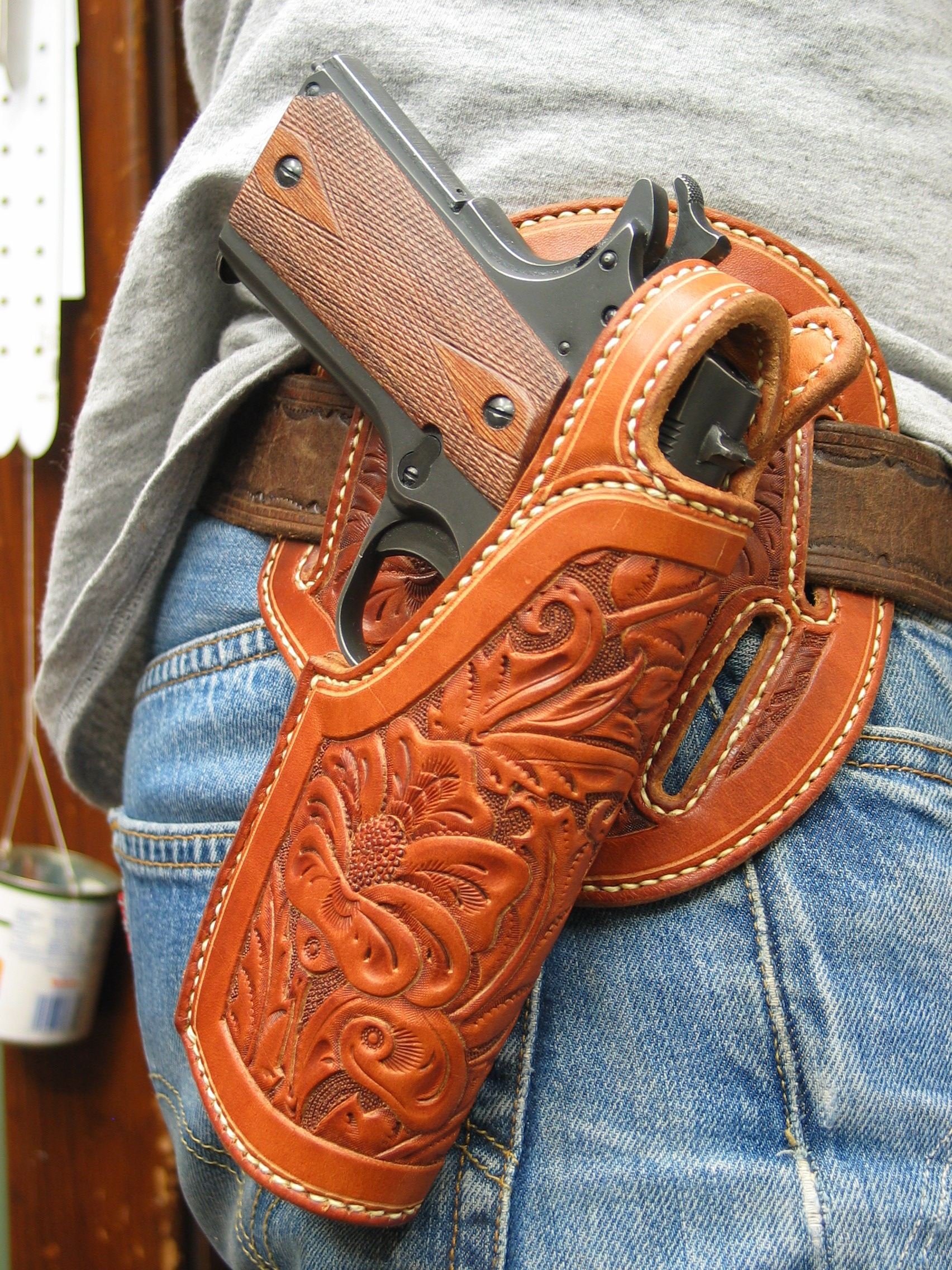 1911 Holsters, Wild Bunch, Will Ghormley - Maker