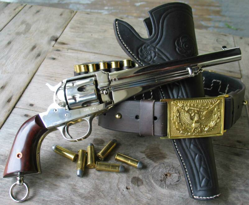 Outlaw Frank James, Jesse James, Holster, Old West, Rig